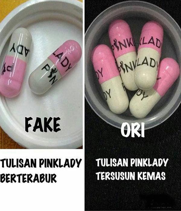 Pink Lady Original Fake
