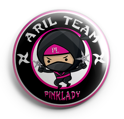 logo aril team pink lady